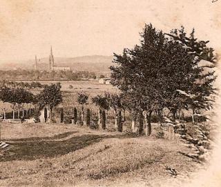 9 CPA NDC vue de l'avenue de la chapelle