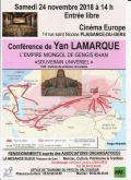 0 MCPT MB Conf Y Lamarque 2018 11 24 Empire mongol de Gengis Khan