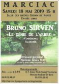 1 MCPT Conférence B Sirven 2019 05 18 LE GENIE DE L'ARBRE