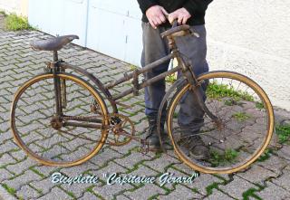 7 2 rétrospective bicyclette pliante Capitaine Gérard