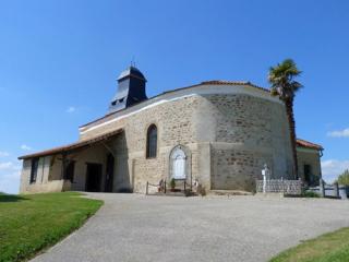 1 église st martin Cazaux-Villecomtal OPR