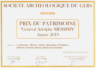 4 Prix Messimy 2019 diplôme MCPT