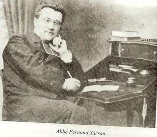 Abbé Fernand Sarran Dico biograpohique p 317