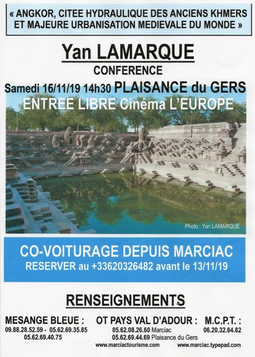 MCPT affiche conf 2019 11 16 Y Lamarque