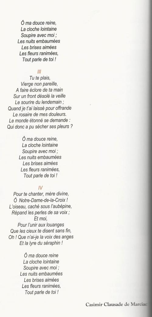 0 Clausade Casimir poésies Hymne à la Vierge 4