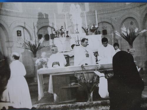 1954 ou plus Messe à NDC 1