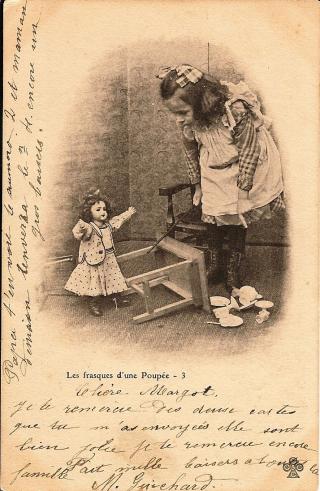 19 3 carte les frasques d'une poupée joue renvers