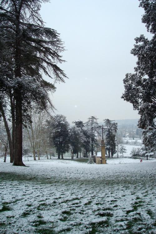 2013 NDC neige vue sur parc 4