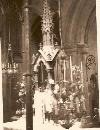 0 NDA clocheton ciborium 1874 1967