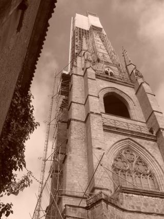 7 NDA clocher Carsana MS vue du pied duclocher