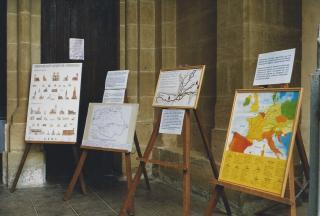 1999 08 ndc 1ere exposition Chemins de St jacques
