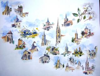 2008 Communauté de Communes B et V ébauche de la planche Isidore Dufis
