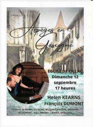 2021 09 12 TILLAC à 17 h payant Arpèges en Gascogne