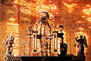 4 9 NDA 2012 JEP autel classé en mezzanine 1er étage clocher