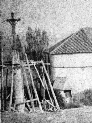 8 NDC dessin photo H Lannes sancet mars 1875 focus colonne pavillon