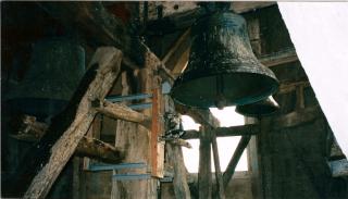 10 NDA charpentes clocher avant restauration